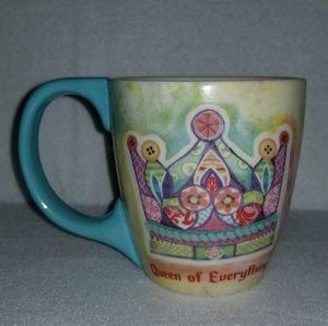 Lang Queen Of Everything Cafe Mug 2009 Coffee Mug